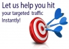 send you Traffic from GOOGLE✔ on a keyword that you desire, Safe and Real Human only