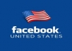 provide 50 verified USA facebook like on your facebook fanpage only