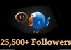 add 25500+ Real TWITTER Followers to ur Account No eggs Super Fast Without Password just