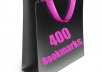 social bookmark your link to 400 different bookmarking sites