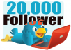 Increase 25,000 Real Looking Twitter Followers to Your Account Just Within 2 Days Without Password 