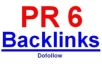 give you PR 6 blogroll link,dofollow ,low obl for