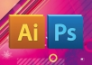 serve you use adobe illustrator or photoshop for editing draw redraw,design logo,brochure,invitation,bussines card or anything you want