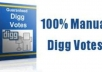 give you 100 Digg votes to seo rocket up your website high rank on google search engine
