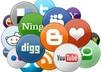 submit your website MANUALLY to the top social bookmarking sites PR9 to PR5 and ping it