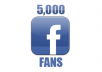 give you 5000+ verified Facebook fan Page Likes