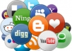 register top 200 Social Bookmarking Pr3-8 account