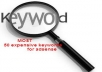 give you a list of 50 keywords that have more than $50 average CPC and maxmium $140+ value and have more than 1000 local US exact searches in Google.