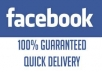 give you 50 to 100 real manual Facebook likes for your fan page