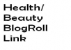 put your link on my health/beauty blog for 1 month