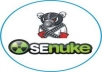 make Google Friendly backlinks with SeNuke in 3 days ★★Se NukeX gig with HIGHEST Reviews★★ORDER NOW!