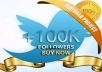 Get 100000+ [100k] twitter followers (Very Fast)