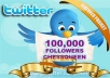 Add Twitter FOLLOWERS 100000+ , 90000+, 80000+, 70000+, 60000+ or 100K, 90K, 80k, 70k, 60k (very fast)