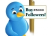 provide you 100% real 50000 verified twitter followers