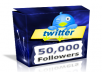 Add 50,000+ Twitter Follower Without Need Of Your Password Or Admin Acess With Real and Active Looking User