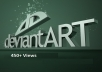 add 450+ Views Deviantart for your ART and Start Getting More Crazy Fan