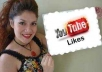 give you 1000 real human youtube Likes within 5 days only for
