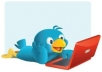 send out an Ad to my 242,000 Plus active twitter Followers about your business 3 times in 3 days