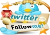 Add 5,333++ TWITTER followers 