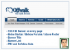 Provide you the banner at Offwalk Forum of 728X90 on prime position