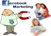 Publish your website/any LINK to over 4,50,00,000(45million)+ Facebook group members and 30000+ fans