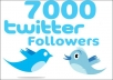 Increase 7000 Real Looking Follower on Your Twitter Profile within 24hrs