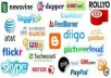 do Social bookmarking submission Manually to 198+ sites Including Top 50 sites + Rss + Ping + Google panda and penguin safe