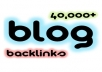 build 40,000+ blog comment backlinks with full report