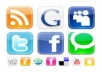 do 600 social BOOKMARKING Pr0 to Pr8 live reports of all social bookmarks links, best social seo 