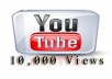 add 10,000+ Or 10k YOUTUBE Video View with in 1Day
