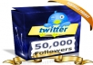 Get 50000+ [50k] TWITTER Followers [express delivery]