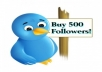 give you verified 5000 real twitter followers not fake