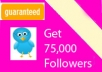 add 74,999+ twitter followersOnly 5 slots available 