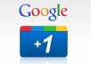 provide you 1000+ google+1 to your website or link