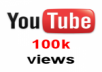 get you 1,00,000 + unique real views for your youtube video