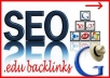 Create 15 Verified DOFOLLOW Profile Backlinks From Edu and Gov Domains