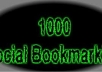 add your links to 1000+ Social BOOKMARKS+Ping with complete report within 2 days