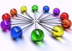 make 8 web 2 sites linkwheel with high seo power google authority domains of pr 5 pr 8 just