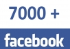 add 7000 + Real working FACEBOOK likes to your fanpage within 24 hours