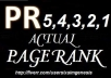 create actual high pr links of pr5, pr4, pr3, pr2 and pr1 backlinks ultimate seo gig with bonus of pr7 backlinks