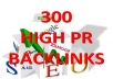 create 300 HIGH PR BACKLINKS PR 1-5