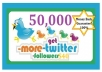 send you ACTIVE 50,000 twitter followers