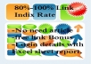 give Google PENGUIN beat  15 links web 2.0 link wheel  plus fast indexing and full detail report with Login details 