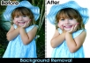 image editing/background remove