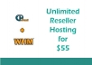 offer Unlimited Reseller Hosting with WHM - CPANEL