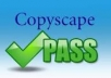 show you howto get %100 copyscape unique articles free