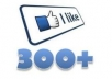 collect 300 genuine facebook like within 2  days