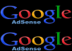 Creates Google Adsense Approved Accounts with your name and your country