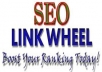 Create LINKWHEEL with 6 High pr Blog Manually And 3000 Backlink