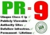 create Permanent 124 High Pr Backlinks pr9 pr8 pr7 Manually Plus Backlink to Your Website within 3 days